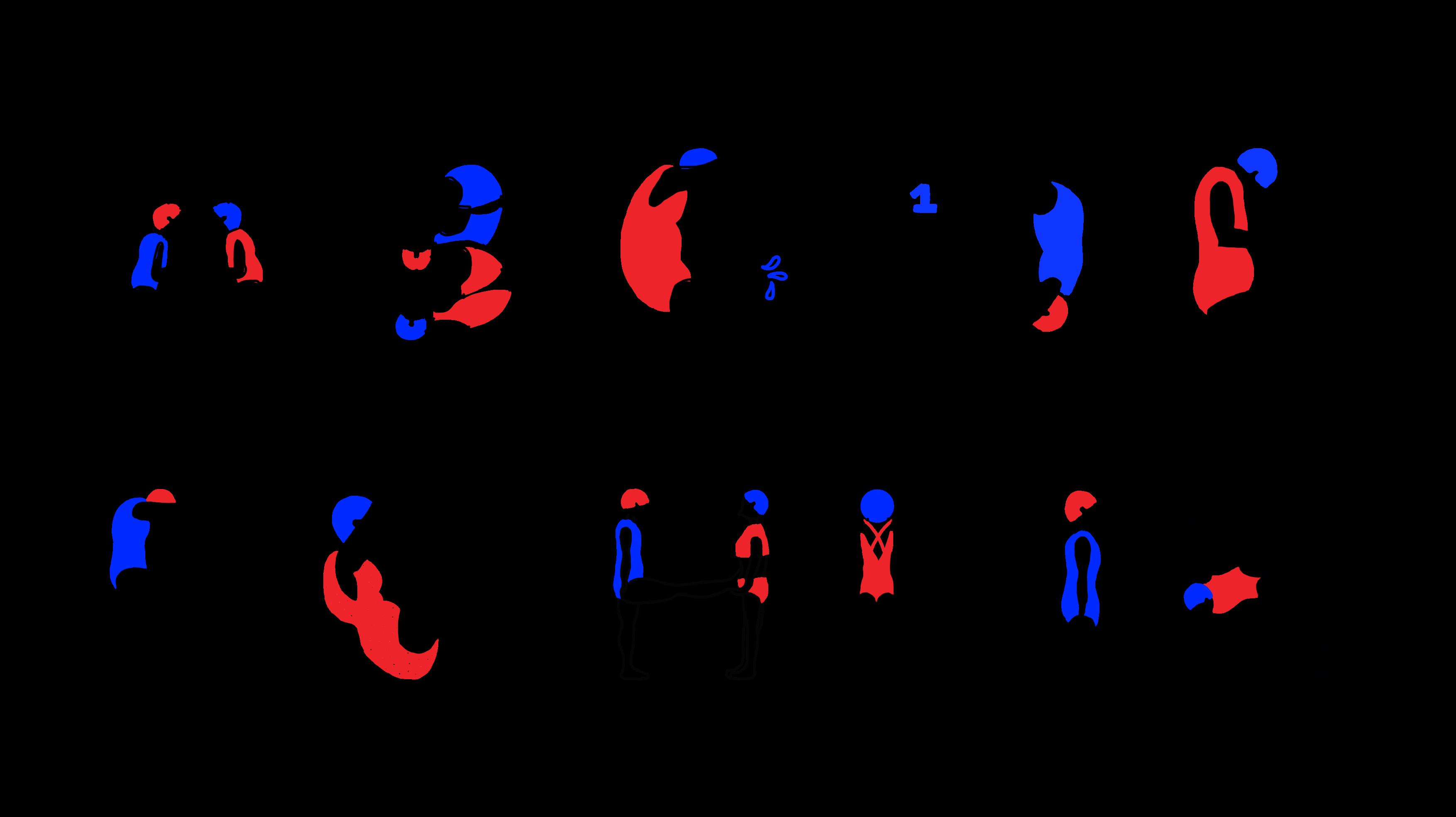 Abécédaire • natation synchronisée